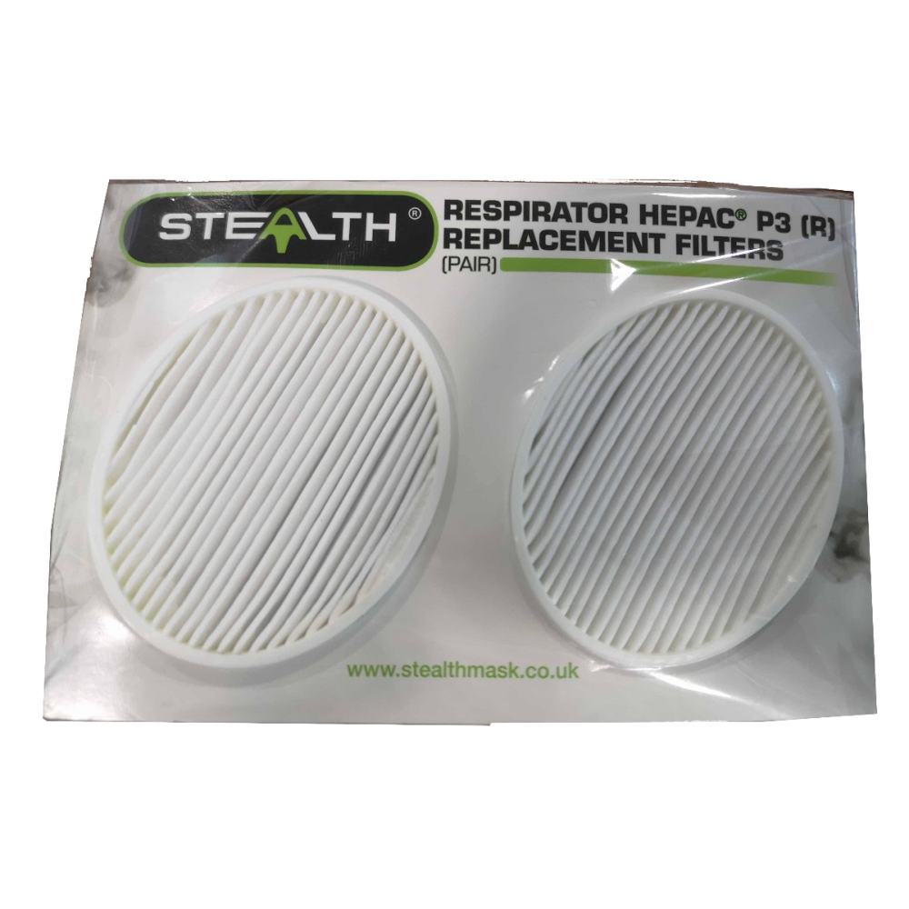 Stealth P3 Reusable Respirator, N95/N99 Replacement Filters