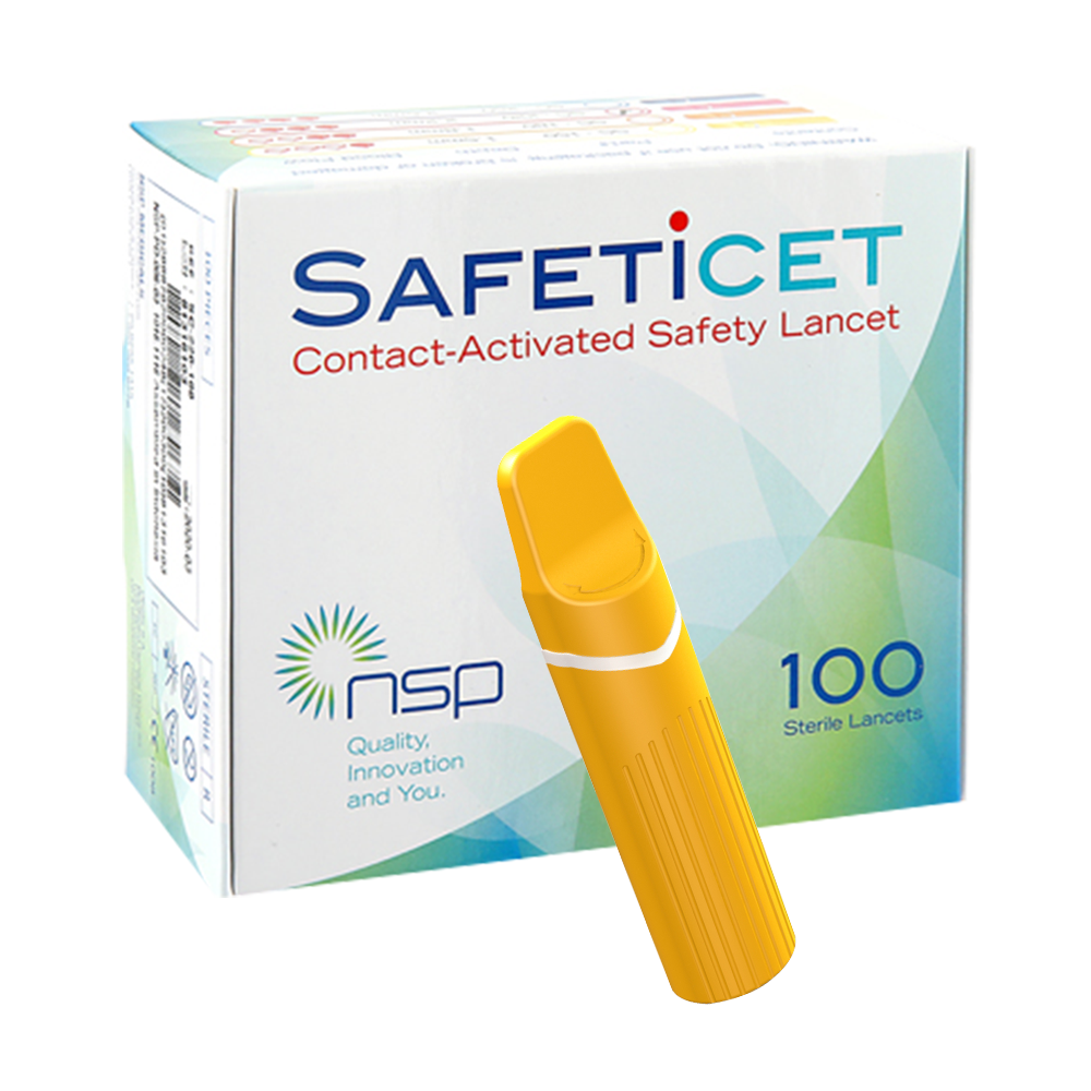 SAFETiCETTM (SC-180) Orange, 100s