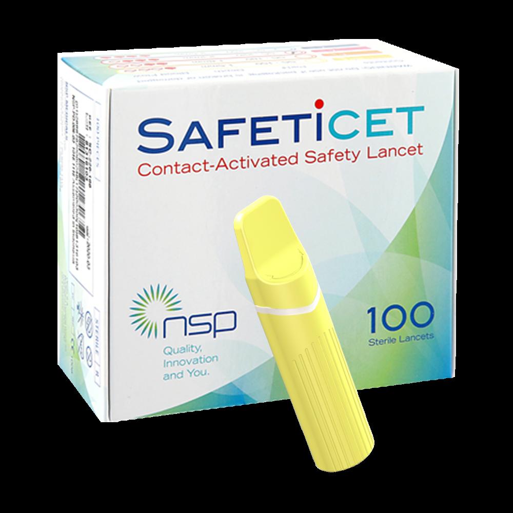 SAFETiCETTM (SC-150) Yellow, 100s