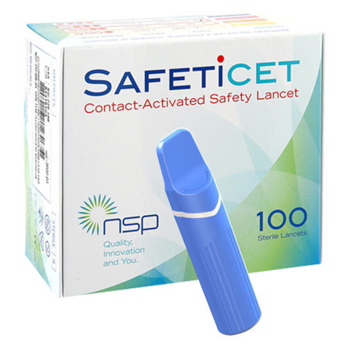 SAFETiCETTM (SC-250) Blue, 100s