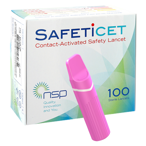 SAFETiCETTM (SC-220) Pink, 100s