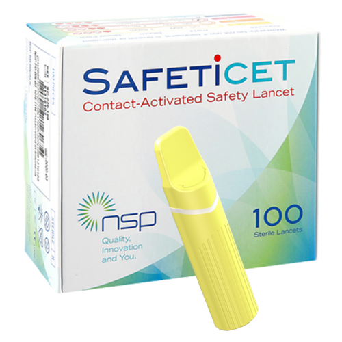 SAFETiCETTM (SC-150) Yellow, 100s