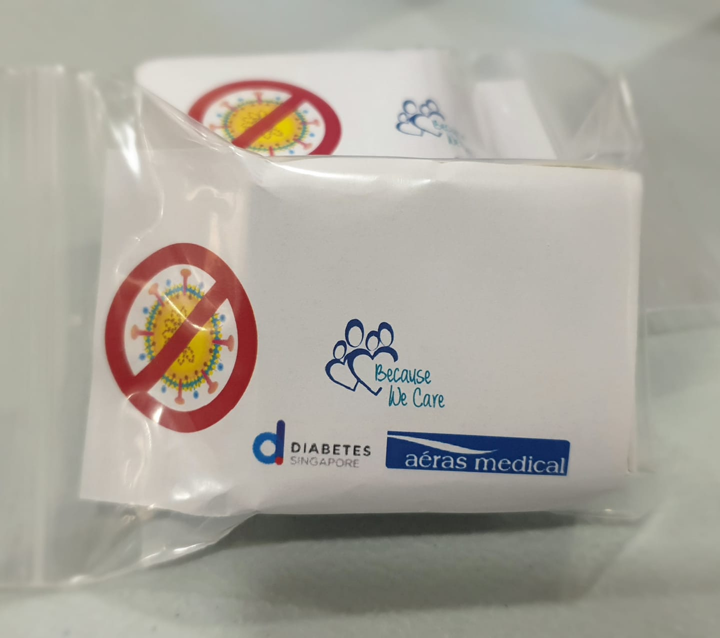 Diabetes Singapore Giving Free Alcohol Swabs Because People Have Hoarded Alcohol Swabs from Pharmacies