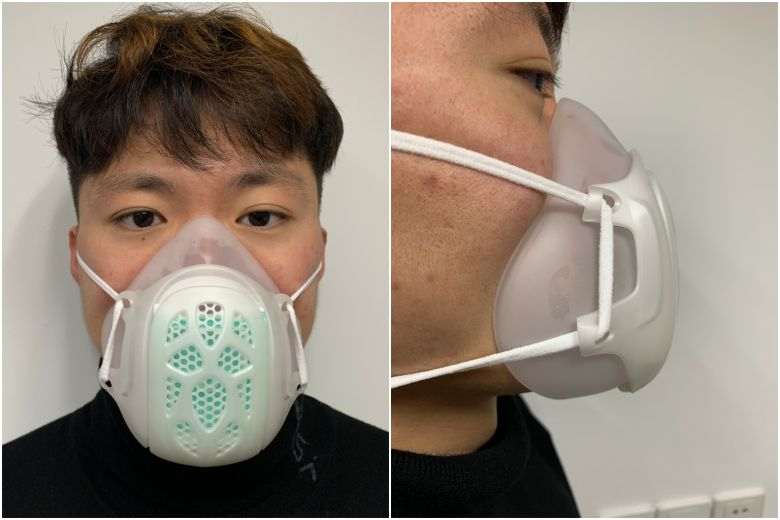 Coronavirus: Local company invents new mask to tackle global shortage; 1,000 being shipped here for sale - Published in Straits Times Mar 30, 2020