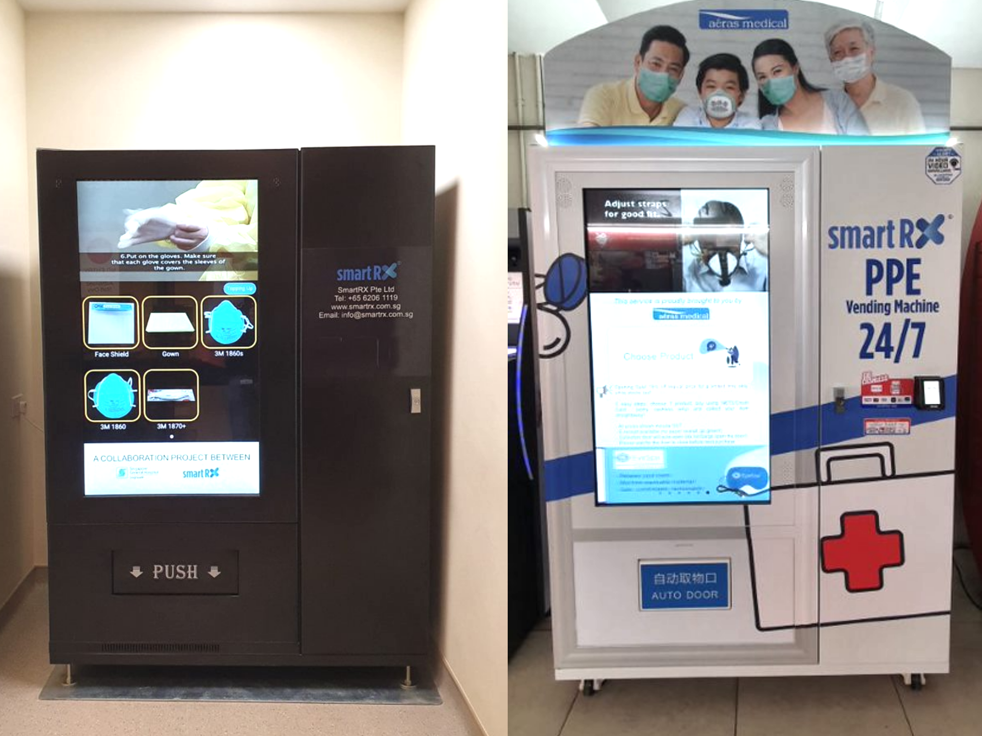 Singapore General Hospital PPE Machine & Aeras' PPE Machine @ Gek Poh